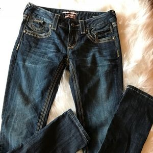 ReRock For Express Skinny Jeans